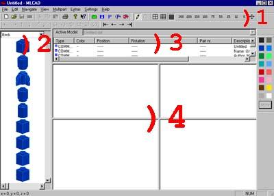 l'interface utilisateur graphique